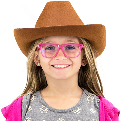 Herdsman Costume - Cowboy Hat Halloween Accessory - Dress Up Theme Party Roleplay & Cosplay Headwear