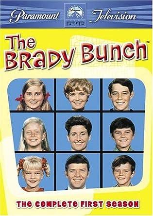Brady Bunch Christmas Card.Amazon Com The Brady Bunch The Complete First Season