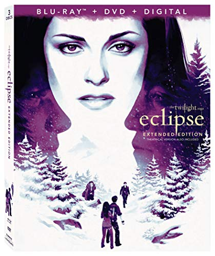 THE TWILIGHT SAGA: ECLIPSE 3-Disc Combo Pack +Extended Edition [Blu-ray] ()