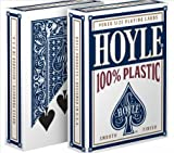 united states plastic puzzle - Hoyle 100% Plastic Playing Cards, Standard Index - 1 Blue Deck