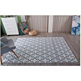 Fashion Geometry Home Rugs - MeMoreCool Seven Patterns No Fading Anti-slipping Simple Style Living Room Tea Table Carpets 55 X 79 Inch