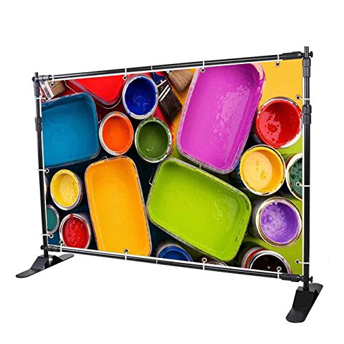- Superland 10 ft Background Stand Newest Step and Repeat Backdrop Banner Stand 8'x 8' - 10' x 8' Adjustable Backdrop Wall Trade Show BackgroundDisplay Backdrop (8'x 8' - 10' x 8')