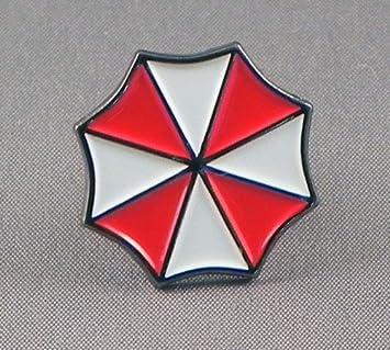Biohazard Symbol Metal 20mm Lapel Pin