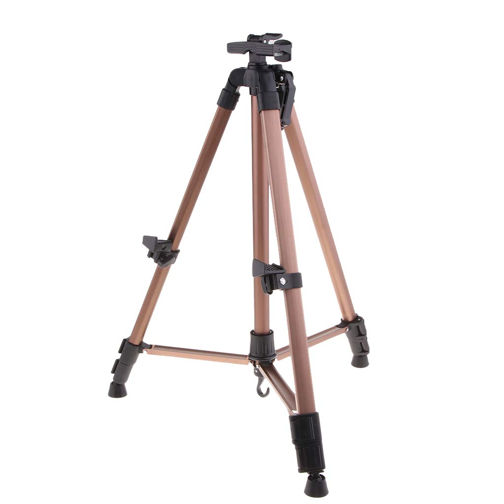 Black Baoblaze T-Sign Artist Easel Stand Extra Thick Aluminum Alloy Tripod Display Easel 23inch to 61inch Adjustable Height Portable Bag for Floor//Table-Top Drawing