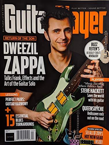 Guitar Magazine Covers - Guitar Player Magazine (April, 2019) Dweezil Zappa Cover