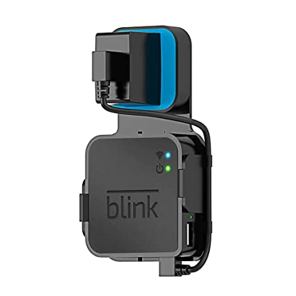 Outlet Wall Mount Bracket Stand Hanger Holder For Blink XT Sync Module w//Cable