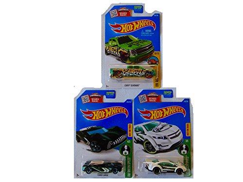 [New Hot Wheels Toy Car Custom Bundle of 3] (Batmobile Stroller Costume)