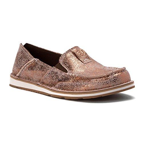 Ariat Damen Cruiser Slip-On Schuh Goldenes Rosa