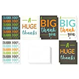 Best Man Thank You Cards - 12 Pack Jumbo Thank You Greeting Cards, 6 Review