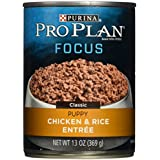 Purina Pro Plan Focus Classic Chicken & Rice Entree Wet Puppy Food - (12) 13 Oz. Cans
