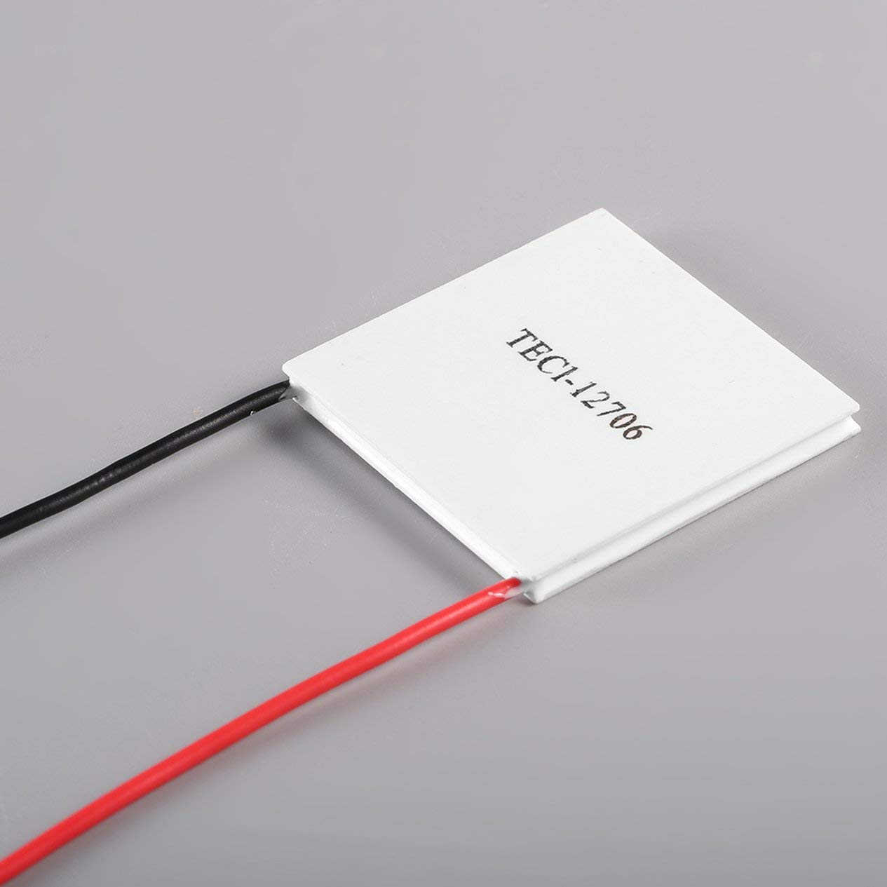 12 V 60 W TEC1-12706 Temperature Power Generation Heatsink Cooler Thermoelectric Peltier Plate Panel Cooling CPU Module