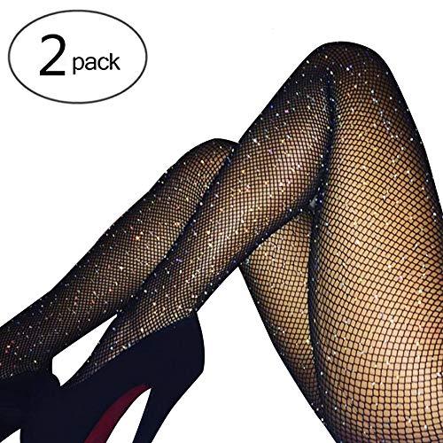 Fishnet Design (HONENNA Women's Fishnet Tights Hollow Out Stockings Mesh Net Pantyhose)