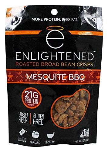 Enlightened - Roasted Broad Bean Crisps Mesquite BBQ - 3 ()