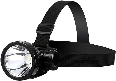Gfbyq Faros LED, Cabeza Super Brillante Impermeable Linterna ...