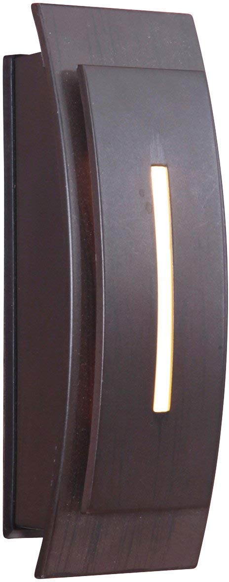 Craftmade TB1020-AI Contemporary Curved Lighted Touch Button