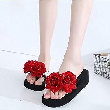 Vistiendo 5cm Verano Las Zapatillas De 4 Khskx Niñas Nuevas 5ARjL4