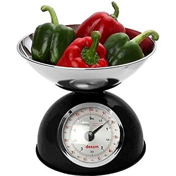 Retro Kitchen Scale Black