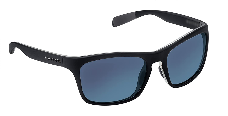 02884d8d6e Amazon.com  Native Eyewear Unisex Penrose Matte Black Crystal Crystal Blue  Reflex  Sports   Outdoors