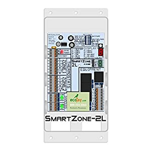 SmartZone-2L: 2 Zone Controller KIT w/ Temperature Sensor – Replace Honewell, ewc, zonefirst hvac zone control panels