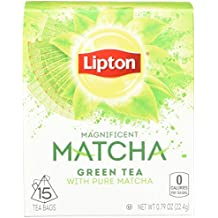 Lipton Green Tea Bags, Pure Matcha, 15 ct