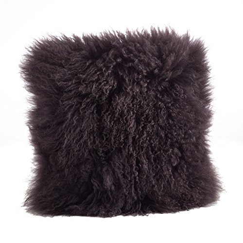 Saro LifeStyle 3564.GY16S  Mongolian Lamb Fur Down Filled...