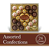 Rondnoir Collection Gift Box, Diamond, 24 Count,9.1 oz (259 gram)