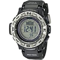 Casio Pro Trek Solar Powered Atomic Resin Men's Digital Watch (PRW-3500-1CR)