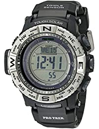 Men's PRW-3500-1CR Atomic Resin Digital Watch