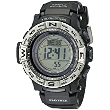 2b27c584abd Casio Men s Pro Trek PRW-3500-1CR Solar Powered Atomic Resin Digital Watch