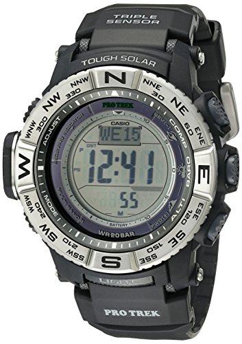 Atomic Solar Casio Power Watch - Casio Men's Pro Trek PRW-3500-1CR Solar Powered Atomic Resin Digital Watch