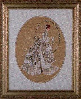 Lavender & Lace - The Bride - Victorian Counted Cross Stitch Pattern (L&L 9) ()
