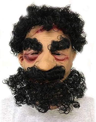 NofsW Máscara de Adulto,Máscara de Halloween,Másca Divertida De Halloween Máscara De Látex Morena Barbudo Máscara Mostrar El Rendimiento del Partido Máscara de Juguete (Color : 1) : Amazon.es: Juguetes y juegos