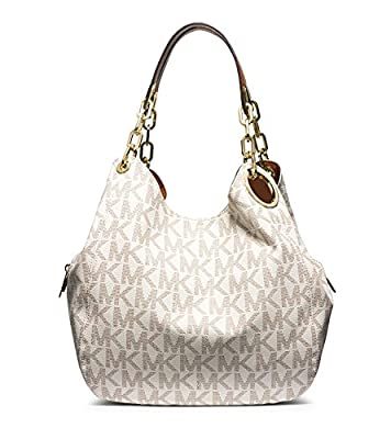 Michael Kors Women's New Fashion Large Logo Shoulder Bag