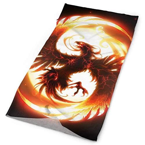 LUCIME Magic Art Firebird Phoenix Headband Bandana£¬Outdoor Multifunctional Headwear,Magic Scarf for Men Women 19.7x9.85(inch)/50x25(cm)