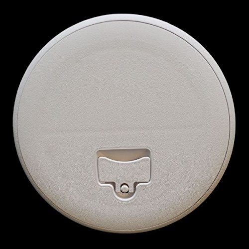 Jim Black Boat Deck Plate 587-8-02 | 8 Inch Amherst White by Jim Black