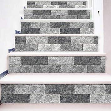 Vinilos Escaleras Paso Básico Antideslizante Alfombra De Coral Resistente A La Alfombra Interior De La Decoración De La Habitación De La Escalera Para El Hogar: Amazon.es: Bricolaje y herramientas