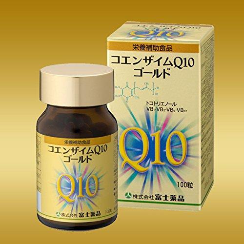 富士薬品 CoQ10コエンザイムQ10ゴールド 100粒入り B01889S8N0
