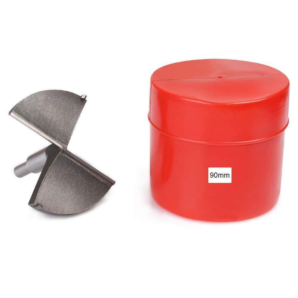 Corte Agujero en Carpinter/ía para Madera 10mm ~ 40mm Brocas Set de Acero al Tungsteno Titanium Recubierto flintronic/® Brocas Forstner Fresadora Herramienta para Perforadora 19PCS