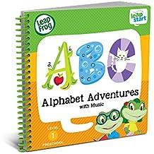 LeapFrog LeapStart Preschool Activity Book: Alphabet Adventures and Music