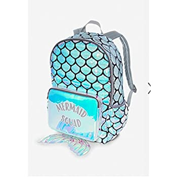 Amazon.com | Justice Mermaid Squad Backpack | Casual Daypacks