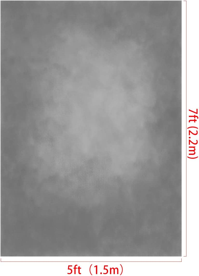 x2.2m Gray Background Grey Backdrop Portrait Photography Texture Backdrop Photography Studio Props Photographer H Kate 5x7ft//1.5m W