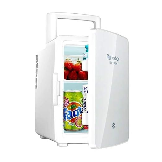 ZZXXRR Mini refrigerador portátil de 12 litros Refrigerador para ...
