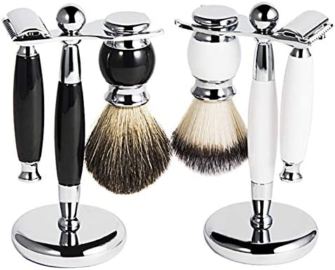 Set de afeitadoras manuales Vintage para Hombres Vintage Shaver Hotel Genuine Shaver-White: Amazon.es: Deportes y aire libre