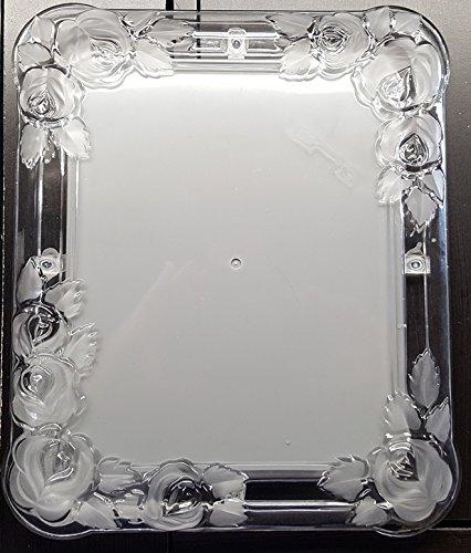 Fifth Avenue Crystal Inlaid Rose 8 X 10 Frame - Buy Online in UAE ...