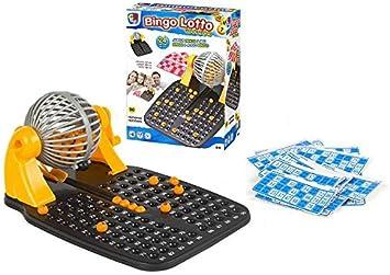 Color Baby - Juego de Bingo con 90 Bolas y 24 cartones (43313 ...