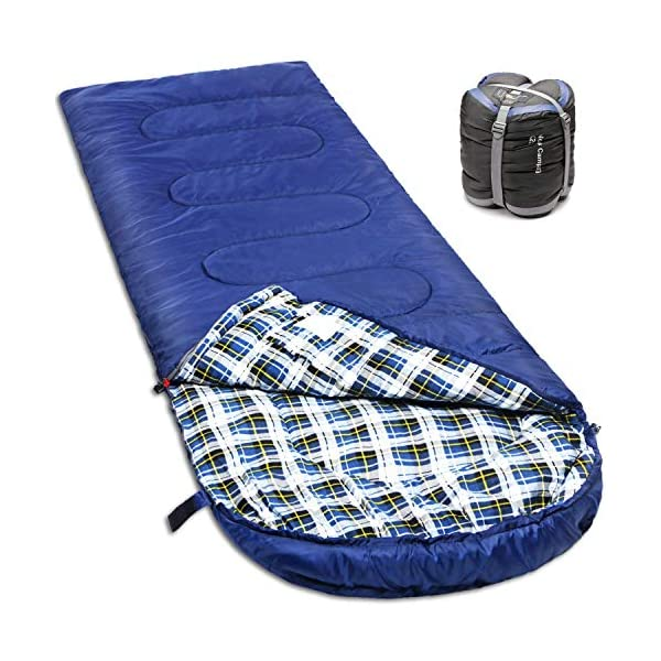 NORSENS Sleeping Bags for Adults Cold Weather 0 Degree, Lightweight Compact Backpacking Sleeping Bags with Upgraded Compression Sack, XL 3