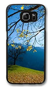 Autumn Schachental Switzerland PC Case Cover for Samsung S6 and Samsung Galaxy S6 Black
