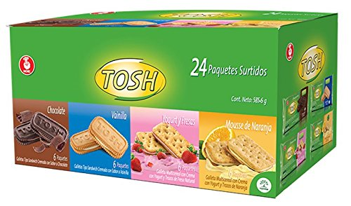 Tosh Cream Assorted 20Oz (Pack of 24 units)