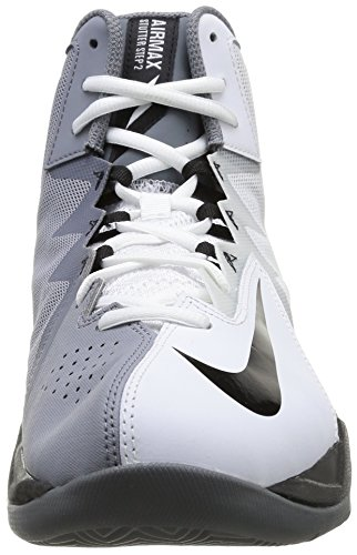 Nike Air Max Stutter Step 2 - Zapatos para hombre 0 (WHITE/BLACK-STEALTH-COOL GREY)