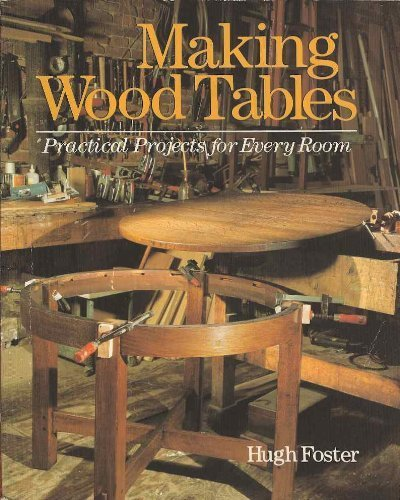 Making Wood Tables: Practical Projects for Every Room ()